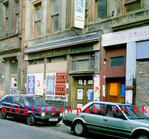 Exterior view of Samuel Dow's Mitchell Street 1990