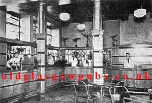 Interior view of Samuel Dow's premises in Kilmarnock Road 1945