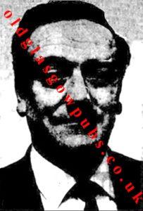 image of Mr Thomas Blue owner of the Carousel Argyle Street 1969