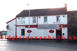 Village cafe, Old Dalmarnock Road 2012