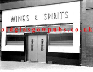 Exterior View of Wines & Spirits 1940s