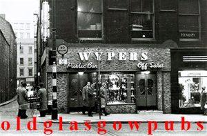 Wypers Bar Renfield Street 1963