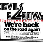 Advert for the Devil's Elbow 1979