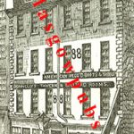 Drawing of Donnelly's Tavern 88 Trongate