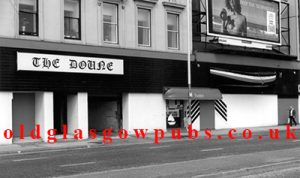 exterior view of the Doune Bar Broomielaw 1980s