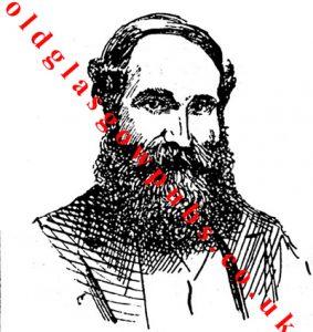 Etch of Mr George McGregor 1889