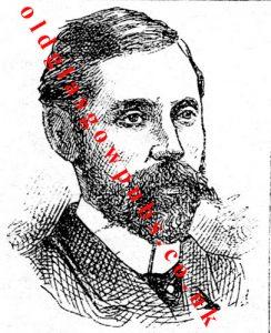 drawing of Gray Edmiston. 1887