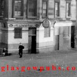 Exterior view of the Double 4 44 John Knox Street 1960s