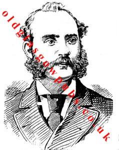 Drawing of Peter McDonald 1891