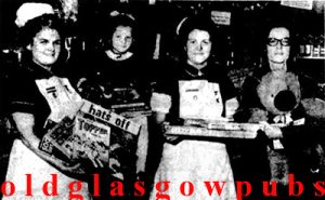 Image of nurses receiving toys from the Pippin Duke Street in 1972