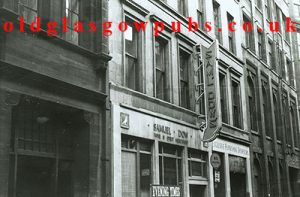 Exterior view of Samuel Dow's Mitchell Street 1960s