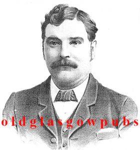 Thomas McVey owner of 70 Renfield Street 1895