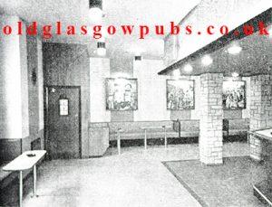 Interior view of the Cactus main Bar Bridgeton Cross 1962