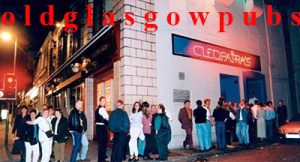 Image of Cleopatras Great Western Road 1991