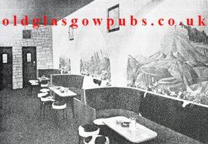 Interior view of the Colorado lounge, Bridgeton Cross, 1962