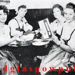 Image of the interior of the Pickwick with 4 ladies at a table enjoying a meal 1970