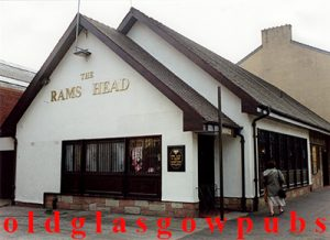 Image of the Rams Head Bar Maryhill Road 1991