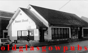 Black and White Image of the Rams Head Maryhill Road 1991