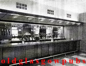 Image of the Main Bar in The Shaws Westwood Road 1962