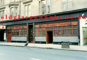 Exterior view of the Windsor Tavern Dumbarton Road 1991