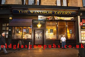 exterior view of the Windsor Tavern Dumbarton Road 2017
