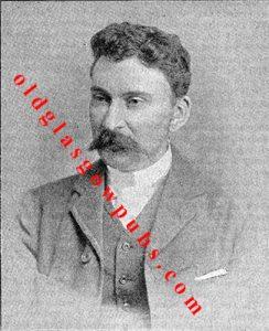 image of Ex-Bailie Bissland of the Douglas Arms, Milngavie 1894