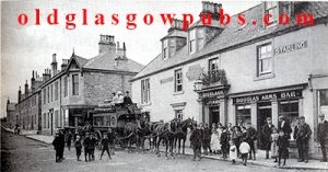 exterior image of the Douglas Arms, Milngavie early 1900s