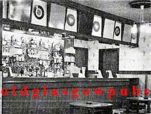 Image of the main bar and cocktail bar in the Nairn Bar 1965