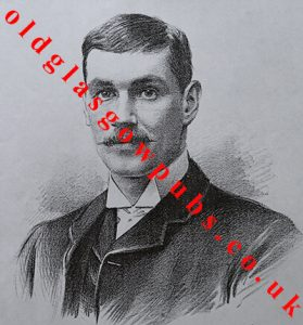Drawing of Thomas Vallance 1891